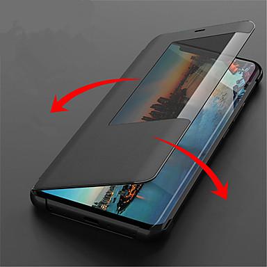 Θήκη Za Huawei Huawei Mate 20 Lite / Huawei Mate 20 Pro s prozorčićem / Zaokret / Auto Sleep / Wake Up Korice Jednobojni Tvrdo PU koža za Huawei Mate 20 lite / Huawei Mate 20 pro / Huawei Mate 20