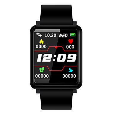BoZhuo F1 Uniseks Smart Narukvica Android iOS Bluetooth Sportske Heart Rate Monitor Mjerenje krvnog tlaka Kalorija Vježba se Prijava Brojač koraka Podsjetnik za pozive Mjerač sna sjedeći Podsjetnik