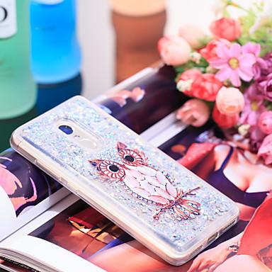 Θήκη Za Xiaomi Xiaomi Redmi Note 4 Otporno na trešnju / Šljokice Stražnja maska Sova / Šljokice Mekano TPU