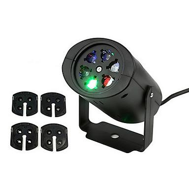 ราคาถูก อุปกรณ์เสริมสำหรับ LED และไฟ-ywxlight®เคลื่อนไฟคริสต์มาสคริสต์มาสโคมไฟโปรเจคเตอร์หิมะเกล็ดหิมะนำแสงหลากสีสำหรับเทศกาลคริสต์มาสดิสโก้ไฟคริสต์มาส