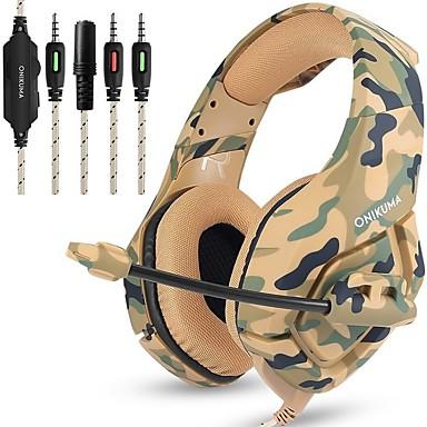 voordelige Gaming-oordopjes-LITBest K1B Gaming Headset Bekabeld Gaming met microfoon