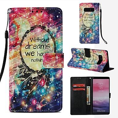 Θήκη Za Samsung Galaxy Note 8 Novčanik / Utor za kartice / Zaokret Korice Hvatač snova Tvrdo PU koža