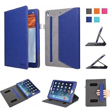 Θήκη Za Apple iPad Air / iPad Mini 3/2/1 / iPad Mini 4 Otporno na trešnju / Zaokret / Origami Korice Jednobojni Tvrdo Tekstil / iPad 9.7 (2017)