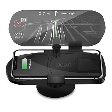 Недорогие Приборы для проекции на лобовое стекло-ziqiao универсальное беспроводное зарядное устройство навигационный кронштейн дисплей HUD