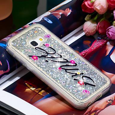 Θήκη Za Samsung Galaxy A3 (2017) Otporno na trešnju / Šljokice Stražnja maska Šljokice Mekano TPU