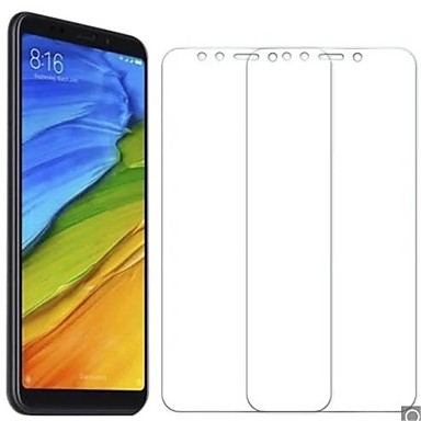 Недорогие Защитные плёнки для экранов Xiaomi-XIAOMIScreen ProtectorXiaomi Redmi 5 Plus HD Защитная пленка для экрана 2 штs Закаленное стекло