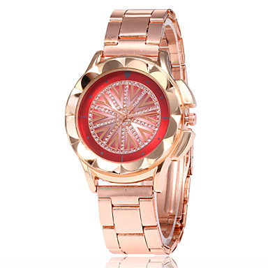 Žene Sat uz haljinu Ručni satovi s mehanizmom za navijanje Kvarc Rose Gold Casual sat Analog dame Moda Elegantno - Crn Braon Crvena