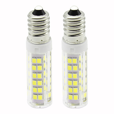 2pcs 4.5 W LED klipaste žarulje 450 lm E14 T 76 LED zrnca SMD 2835 Zatamnjen Toplo bijelo Hladno bijelo 220 V