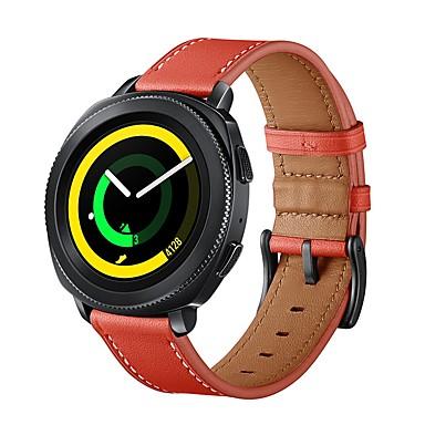 Pogledajte Band za Gear Sport / Gear S2 / Gear S2 Classic Samsung Galaxy Sportski remen / Klasična kopča Prava koža Traka za ruku