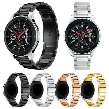 voordelige Smartwatch-accessoires-Horlogeband voor Samsung Galaxy Watch 46 Samsung Galaxy Sportband / Milanese lus Roestvrij staal Polsband