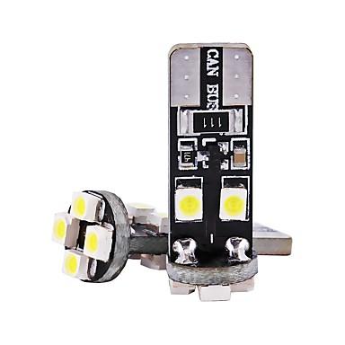 voordelige Motorverlichting-2pcs T10 Motor / Automatisch Lampen 1 W SMD 3528 80 lm 8 LED Richtingaanwijzerlicht / Interior Lights Voor Universeel Universeel
