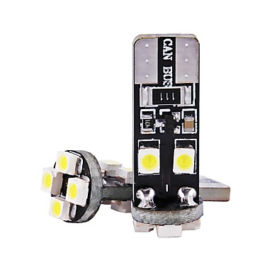 2pcs T10 Motor / Automobil Žarulje 1 W SMD 3528 80 lm 8 LED Žmigavac svjetlo / Svjetla u unutrašnjosti Za Univerzális Univerzalno