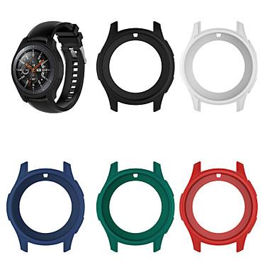 Недорогие Часы для Samsung-Кейс для Назначение SSamsung Galaxy Gear S3 Frontier / Samsung Galaxy Watch 46 Силикон Samsung Galaxy