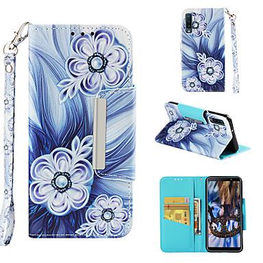 Θήκη Za Samsung Galaxy Galaxy A7(2018) Novčanik / Utor za kartice / Zaokret Korice Cvijet Tvrdo PU koža