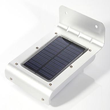 1pc 16 de energie solară pir senzor de mișcare de securitate lampă de perete lumina în aer liber gradina