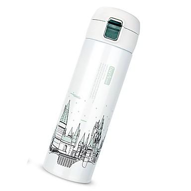 Drinkware Vakuum kup / Posuda za četkice za pranje zuba Nehrđajući čelik Prijenosno / zadržavanja topline Poslovanje / Ležerno / za svaki dan