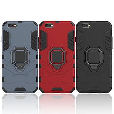 Θήκη Za Apple iPhone 6s Plus / iPhone 6 Plus Otporno na trešnju / Prsten držač Stražnja maska Jednobojni / Oklop Tvrdo PC