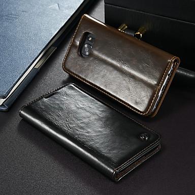 Θήκη Za Samsung Galaxy S7 edge Novčanik / Utor za kartice / sa stalkom Korice Jednobojni Tvrdo PU koža
