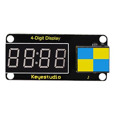 jednostavan priključak 4-znamenkasti LED zaslon od 8 seg (crni i ekološki)