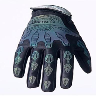 Cijeli prst Muškarci Moto rukavice Tkanina / mikrovlakana / Spandex Lycra Prozračnost / Otporno na nošenje / Ne skliznuti