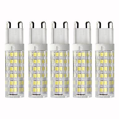5pcs 4.5 W LED klipaste žarulje 450 lm G9 T 76 LED zrnca SMD 2835 Zatamnjen Toplo bijelo Hladno bijelo 110 V