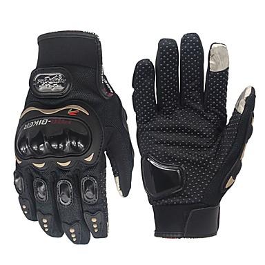 Cijeli prst Muškarci Moto rukavice Poliesterska tkanina Prozračnost / Otporno na nošenje / Ne skliznuti