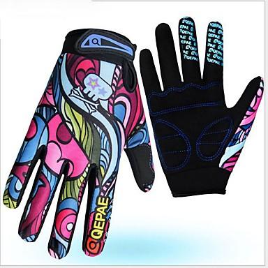 Cijeli prst Uniseks Moto rukavice mikrovlakana / Spandex Lycra Prozračnost / Otporno na nošenje / Protective