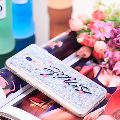 Θήκη Za Xiaomi Xiaomi Redmi Note 4X Otporno na trešnju / Šljokice Stražnja maska Šljokice Mekano TPU