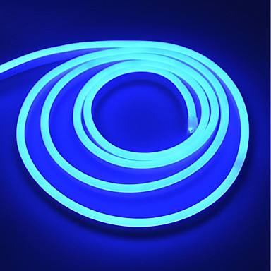 رخيصةأون شرائط ضوء مرنة LED-brelong في الهواء الطلق 220v الجهد العالي ضوء النيون الناعمة قطاع 5 متر الاتحاد الأوروبي
