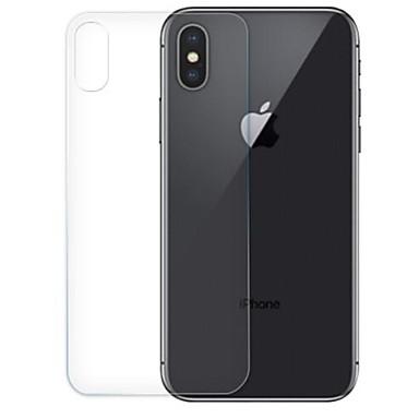 voordelige iPhone screenprotectors-AppleScreen ProtectoriPhone XS High-Definition (HD) Achterkantbescherming 1 stuks Gehard Glas