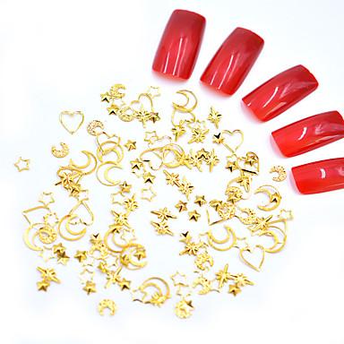 Metal Nakit za nokte Za Prst noktiju Nokti na nogama Mat / Mini Style / Sigurnost Totem Series Nakit serije Romantična serija nail art Manikura Pedikura Moda / Slatka Style Božić / Special Occasion