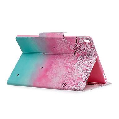 رخيصةأون أغطية أيباد-غطاء من أجل Apple iPad Air / iPad 4/3/2 / iPad Mini 3/2/1 محفظة / ضد الصدمات / مع حامل غطاء كامل للجسم زهور / لون متغاير قاسي جلد PU