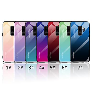 Θήκη Za Samsung Galaxy S9 / S9 Plus / S8 Plus Zrcalo / Uzorak Stražnja maska Prijelaz boje Tvrdo Kaljeno staklo