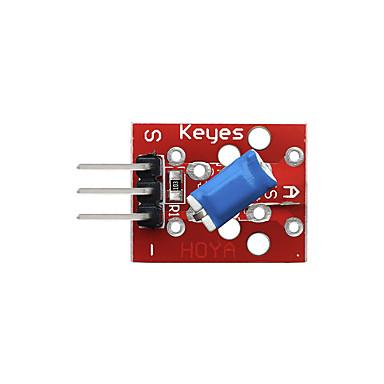 olcso Modulok-dönthető kapcsoló modul (piros) tűfejlécek
