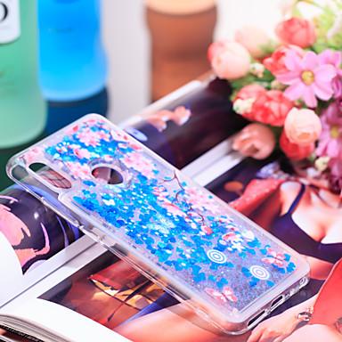 Θήκη Za Xiaomi Xiaomi Redmi Note 5 Pro Otporno na trešnju / Šljokice Stražnja maska Šljokice / Cvijet Mekano TPU