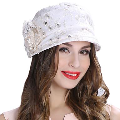 aba288bdb777a7 The Marvelous Mrs. Maisel Women's Adults' Ladies Retro / Vintage Cloche Hat  Hat White Flower Headwear Lolita Accessories 7074024 2019 – $59.99