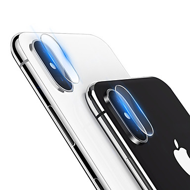voordelige iPhone screenprotectors -AppleScreen ProtectoriPhone XS High-Definition (HD) Camera Lens Protector 1 stuks Gehard Glas