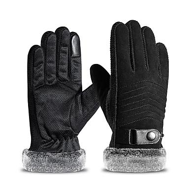 Cijeli prst Muškarci Moto rukavice Koža Touch Screen / Ugrijati / Ne skliznuti