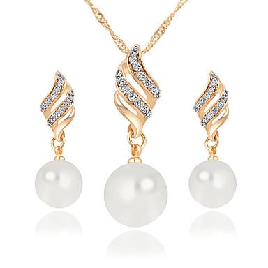 Twist flash diamond necklace short dress silver PK