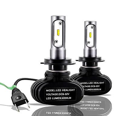 voordelige Autokoplampen-SO.K 2pcs H7 / H4 / H3 Automatisch Lampen 25 W CSP 6000 lm 2 LED Mistlamp / Koplamp Voor Alle jaren