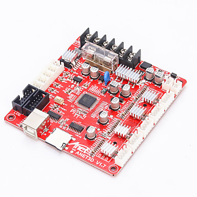 povoljno Dijelovi i dodaci za 3D printer-Anet a8 3d pisač mainboard anet v1.0 za reprap mendel prusa kontrolu matične ploče