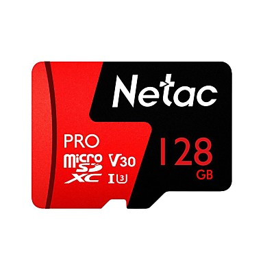 olcso SD-kártya-Netac 128GB Memóriakártya UHS-I U3 / V30 P500pro