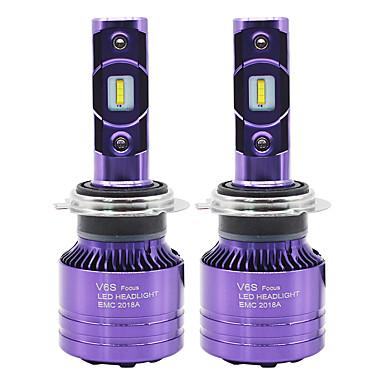 voordelige Autokoplampen-SO.K 2pcs 9007 / H7 / H4 Automatisch Lampen 50 W CSP 6000 lm 2 LED Mistlamp / Koplamp Voor Alle jaren
