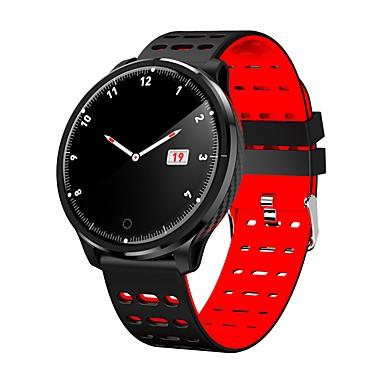 رخيصةأون ساعات ذكية-p71 ساعة ذكية BT 4.0 دعم تعقب اللياقة البدنية إخطار&أمبير. رصد معدل ضربات القلب متوافق نظام سامسونج / إل جي الروبوت&أمبير. ايفون