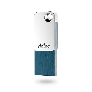 olcso USB pendrive-ok-Netac 32 GB USB hordozható tároló usb lemez USB 2.0 / Micro USB Alumínium-magnéziumötvözet Kocka alakú / Mini Titkosított / Sapka nélküli / geometrikus minta U329