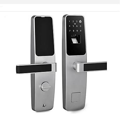 olcso Beléptető rendszerek-holishi® cink ötvözet zár / intelligens zár intelligens otthoni biztonsági rendszer rfid / ujjlenyomat feloldása / jelszó feloldása háztartási / otthoni / otthoni / irodai biztonsági ajtó / fa ajt