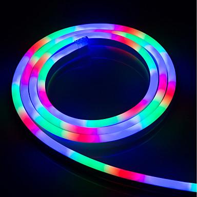 brelong vodio šarene fleksibilne neon vodootporan svjetlo s 5m 1x2cm 220v europske propise