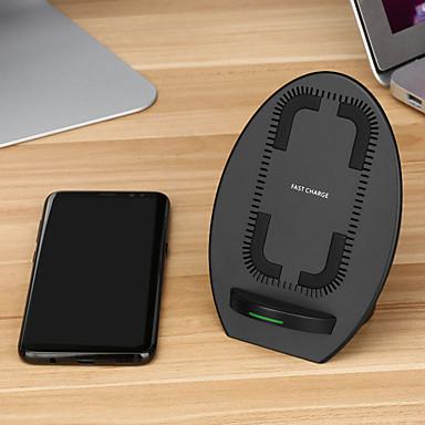 Vezeték nélküli töltő USB töltő USB Vezeték nélküli töltő / Qi 1 USB port 2 A DC 9V mert iPhone X / iPhone 8 Plus / iPhone 8