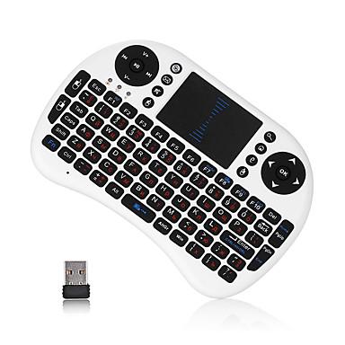 olcso Audió & videó kiegészítők-I8U Air Mouse / billentyűzet / Távirányító Mini 2,4 GHz-es vezeték nélküli drótnélküli Air Mouse / billentyűzet / Távirányító Kompatibilitás / Windows 10
