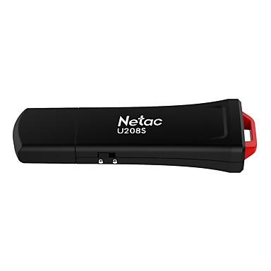 olcso USB pendrive-ok-Netac 32 GB USB hordozható tároló usb lemez USB 2.0 / Micro USB Műanyag ház Kocka alakú Titkosított U208S
